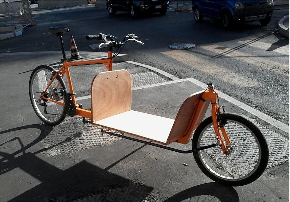 Двухколесный грузовой велосипед CargoBike-Long
