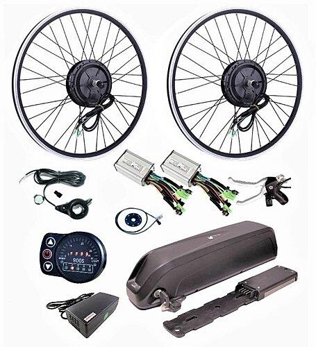 Купить набор мотор-колес под полный привод для электровелосипеда в Москве на официальном сайте ВольтБайкс