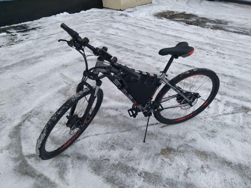 Электровелосипед Вольт-Про ГР29900 60В, полноприводный (2019)