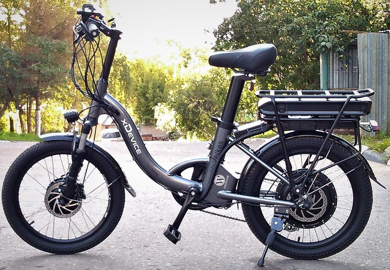 Электровелосипед xDevice xBicycle 20W two-wheel-drive, полноприводный