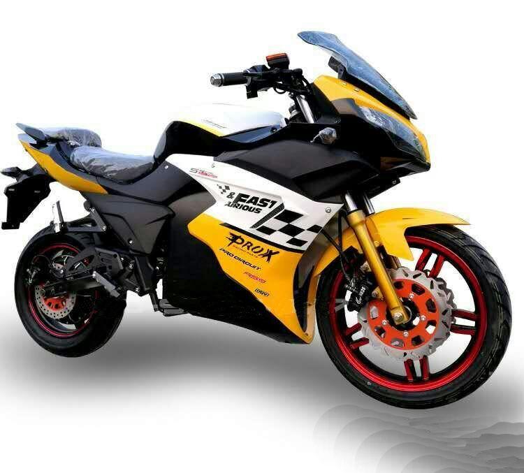 Электромотоцикл 8 кВт
