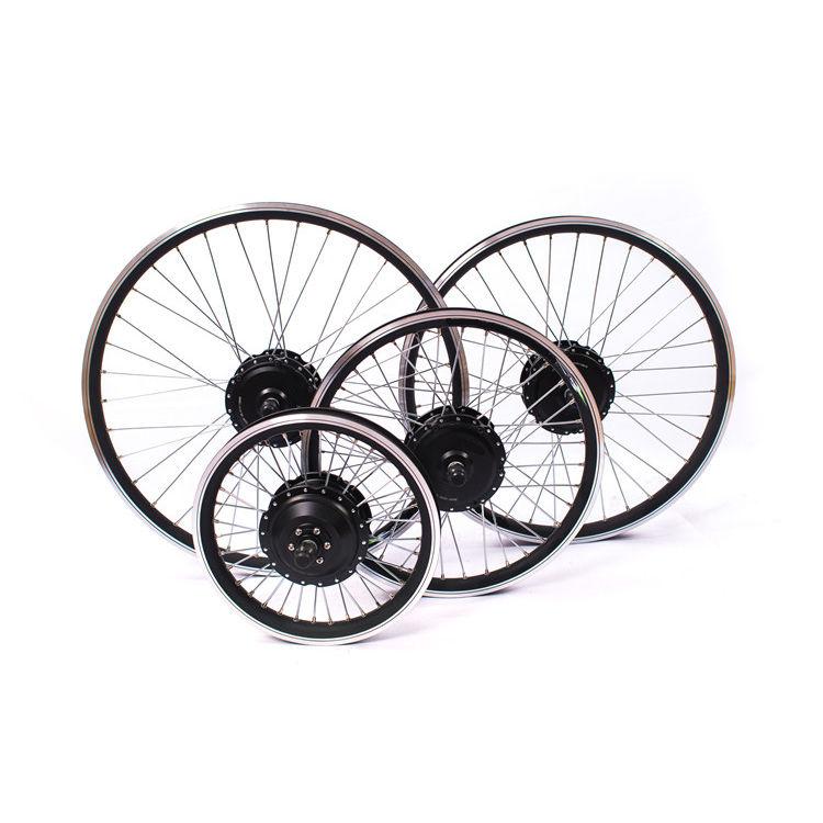 Мотор-колесо переднее 350Вт, редукторное, 100мм (мод. Green-G27)