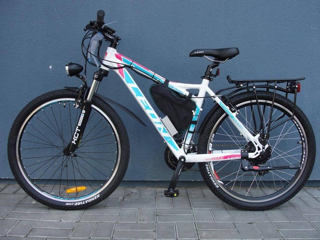 Велосипед сэлектромотором фото