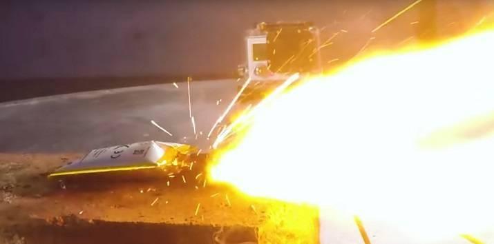 Взрыв литий ионного аккумулятора