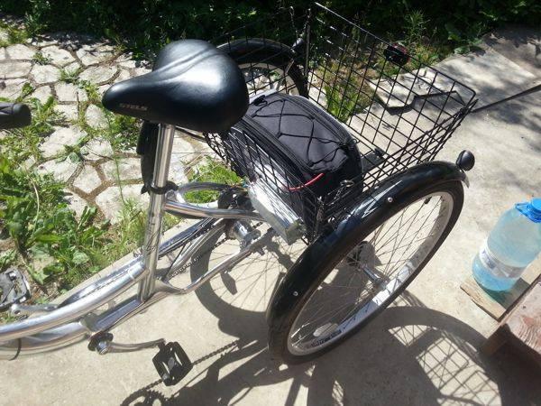 Трицикл из велосипеда своими руками
